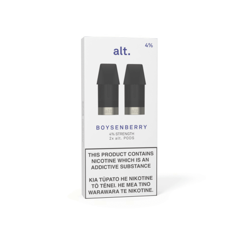 Pods - ALT - REPLACEMENT POD 2-PACK - Boysenberry 4%