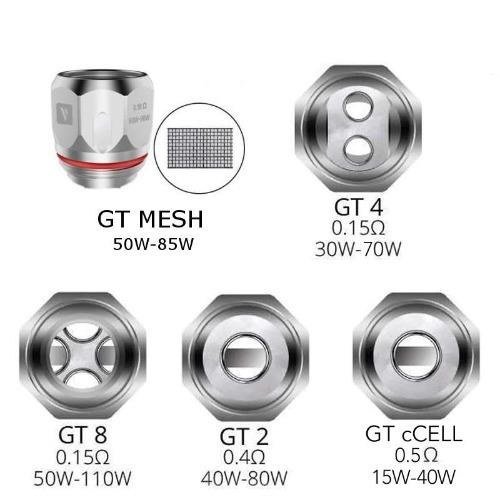 Replacement Coils - Vaporesso - GT Coils