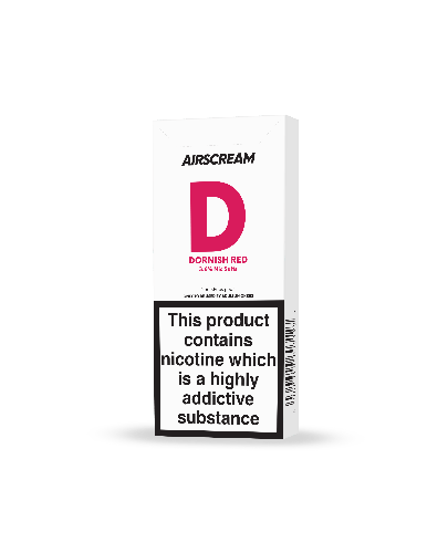 Replacement Pods - Airscream - Replacement Cartridge - New 1.6ml Dornish Red 2 Pods/Pack