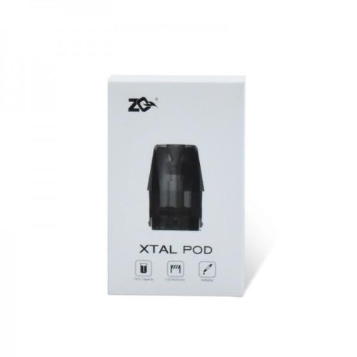 ZQ - Xtal Replacement Pod Cartridge 1.8ml (4pcs/pack)
