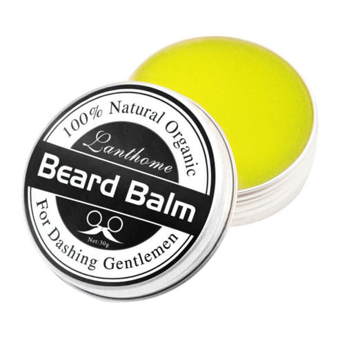 Natural Men Beard Hair Wax Balm Organic Beard Conditioner