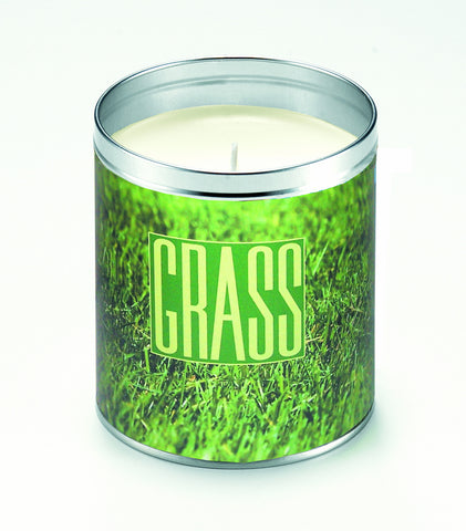 Panoramic Grass Candle