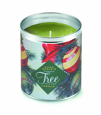 Tree in a Can Ornaments Candle