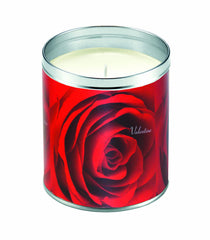 Valentine Roses Candle