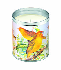 Yellow Finches Candle