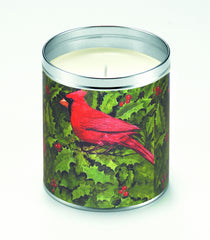 Red Cardinals Candle