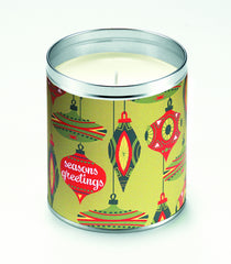 Retro Ornaments Candle