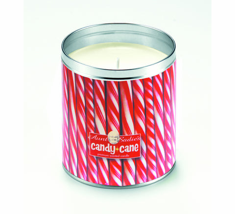 Candy Cane Sticks Candle