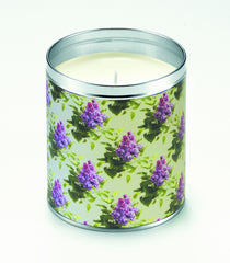 Lilac Wallpaper Candle