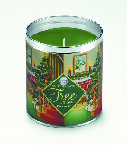 Fireside Tree-in-a-Can Candle