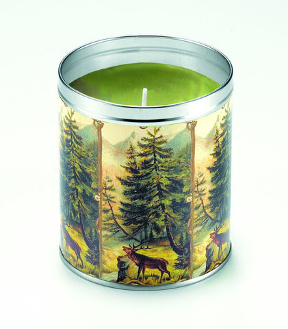 Moose in Woods Candle
