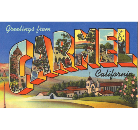 Greetings From Carmel Candle