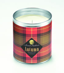 Autumn Plaid Candle