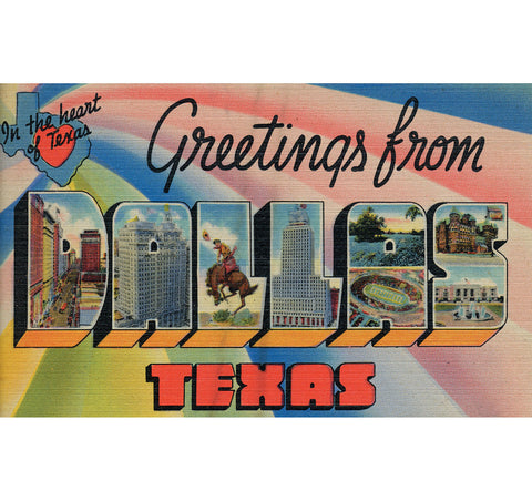 Greetings From Dallas Candle
