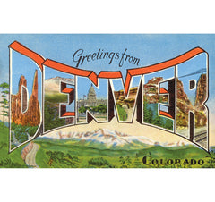 Greetings From Denver Candle
