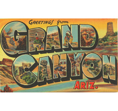 Greetings From The Grand Canyon Candle