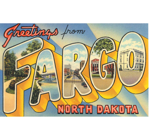 Greetings From Fargo Candle
