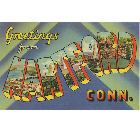 Greetings From Hartford Candle