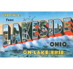 Greetings From Lakeside, Ohio Candle