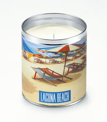 Personalized Beach Umbrellas Candle