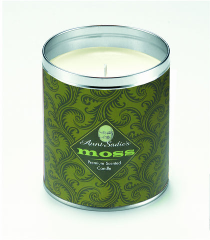 Moss Scroll Candle