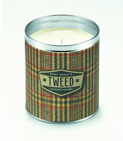 Wool Tweed Candle