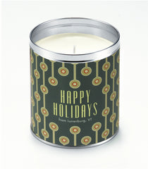 1968 Holidays Personalized Candle