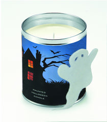 Haunted House W/Felt Ghost Candle