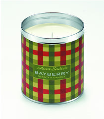 Bayberry Plaid Candle