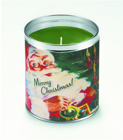 Jolly St. Nick Candle