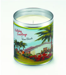Warmest Greetings Candle