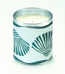 Kate's Turquoise Scallop Shells Candle