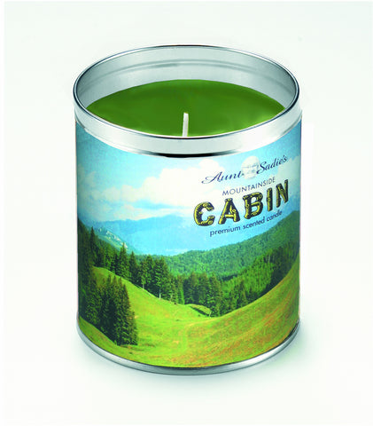 Mountainside Cabin Candle