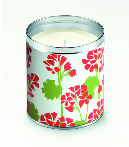 Kate's Geraniums Candle