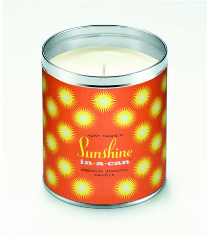 Sunshine Bursts Candle