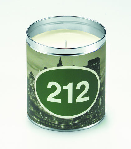 New York Skyline Personalized Candle