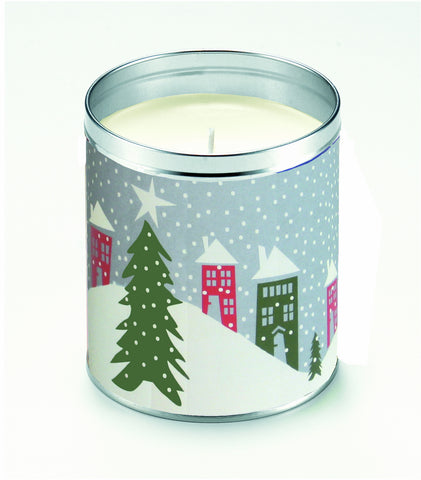 Kate's Nordic Snow Village Candle