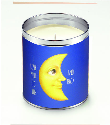 Love You to the Moon Candle
