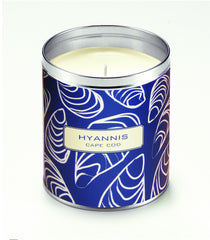 Kate's Navy Blue Oysters Candle