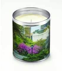 America The Beautiful Spring in the Park Candle