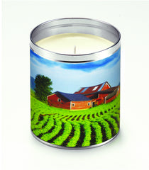 America The Beautiful Red Barn Farm Candle