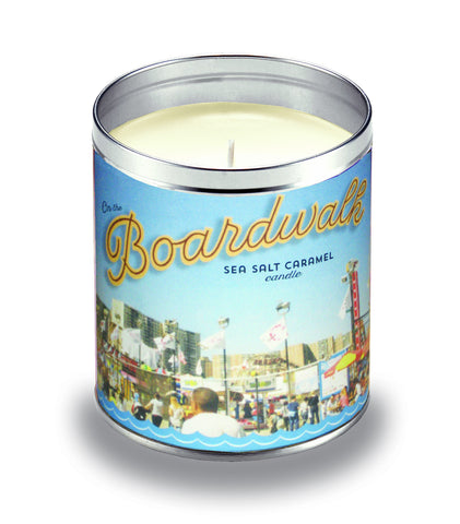 Boardwalk Salted Caramel Candle