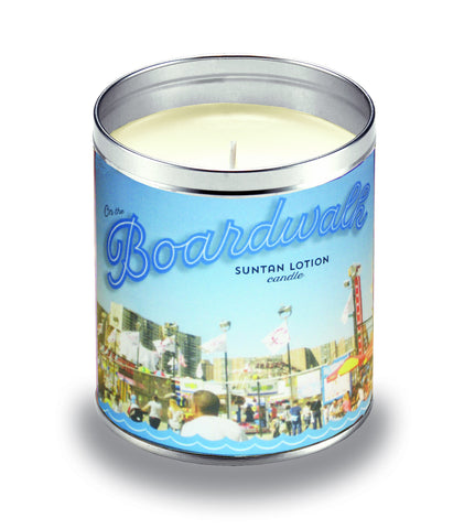 Boardwalk Suntan Lotion Candle