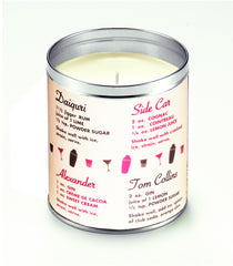 Retro Cocktails Candle