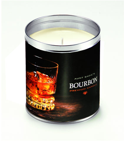 Bourbon on the Rocks Candle