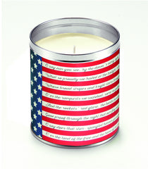 Star Spangled Banner Candle