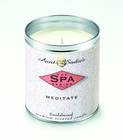 Spa Meditate Candle