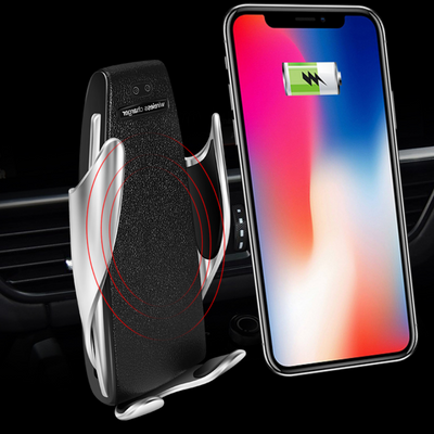 magic clip s5 car wireless charging mobile phone bracket - LuckyForest