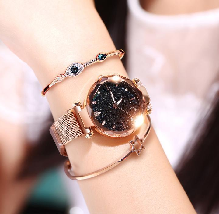 50% OFF Six Colors Starry Sky Watch Perfect Gift Idea! - LuckyForest