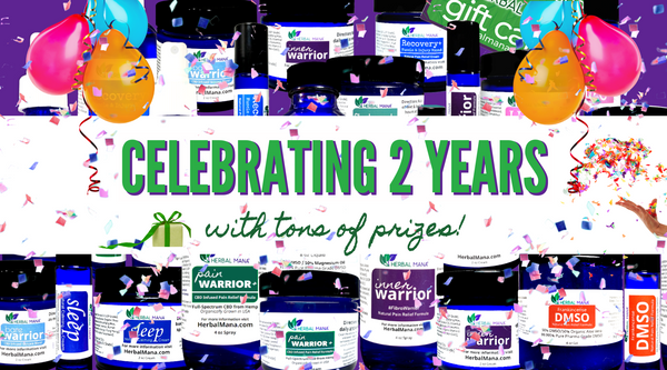 Celebrating 2 Years In Business (with tons of prizes)